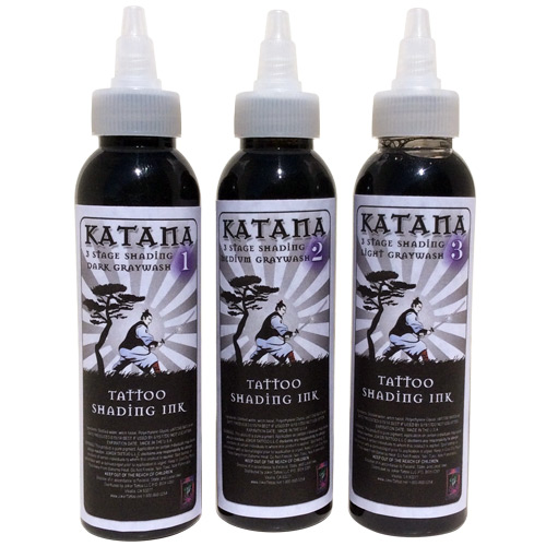 Katana 3 Stage Graywash Shading Set