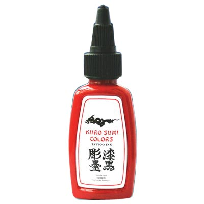 Kuro Sumi Chi Red Tattoo Ink