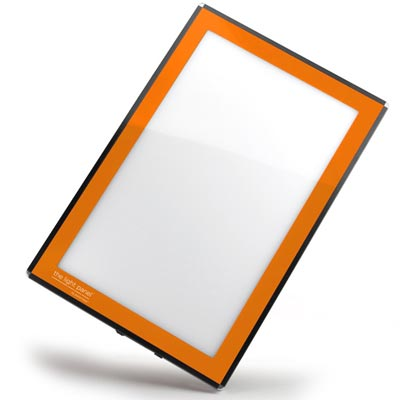 LED Light Panel in Orange