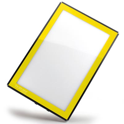 Led Light Panel In Yellow Light Panel Yellow 129 00