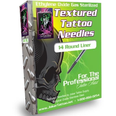 Textured Tattoo Needles 14 RL