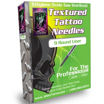 Textured Tattoo Needles 9 RL
