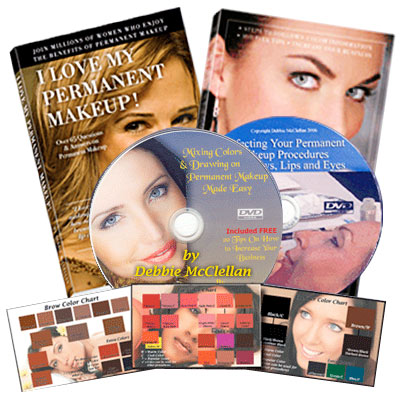Permanent Makeup Complete Book and DVD Set