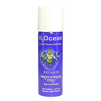 H2Ocean Piercing Aftercare Spray 4 oz.
