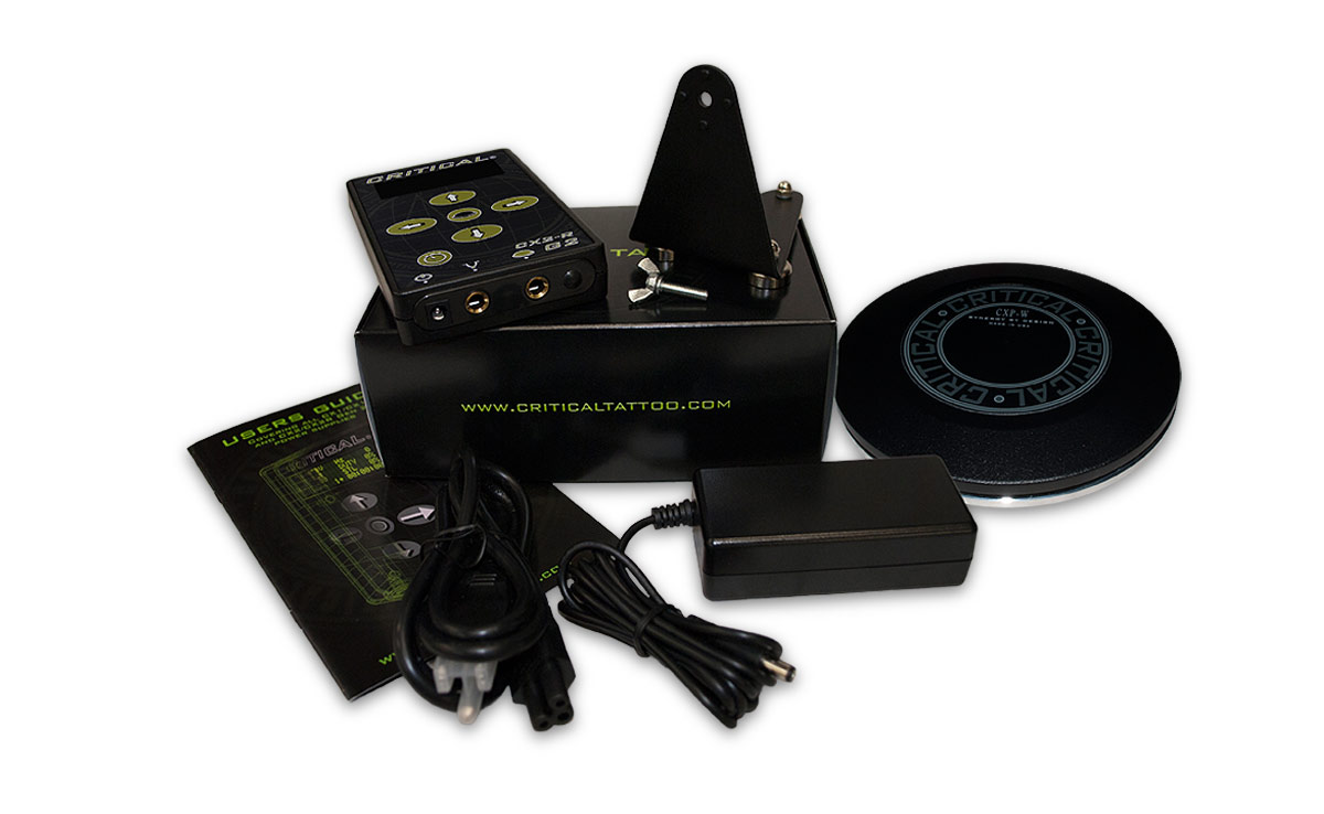 CX2R-G2 Power Supply & Wireless Pedal Combo from Critical