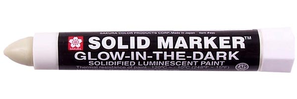Solid Marker Glow-in-the-Dark