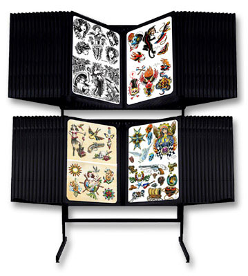 Tattoo Flash Rack