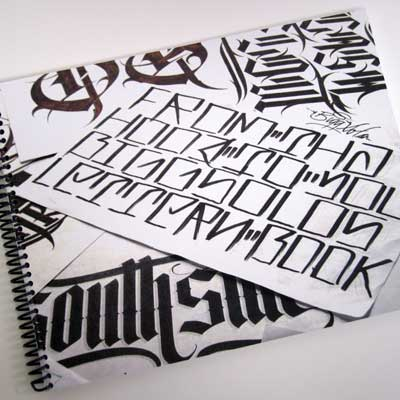 From the Hood to You Lettering Book by Big Solo