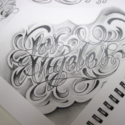 Letters To Live By - Lettering For Tattoos - $60.00 : Wholesale