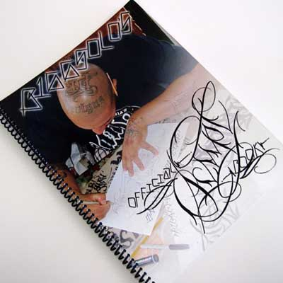 Official Tattoo Script Book by Big Solo