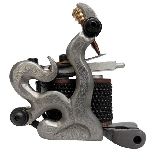Damascus Tattoo Machine 1